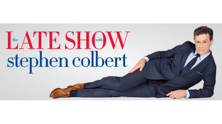 Sign for Late Show with Stephen Colbert